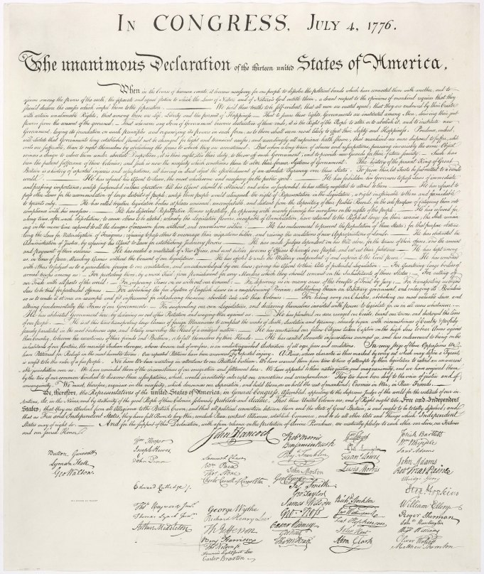 U.S. Declaration of Independence