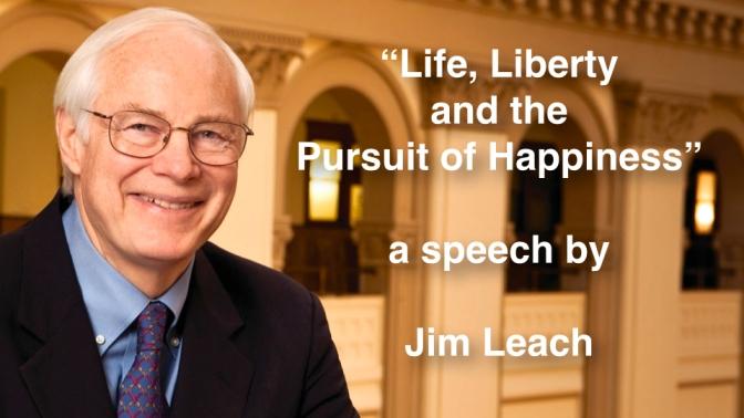 """Political Gridlock"" – Jim Leach Speech Transcript – Veterans Day – 11 November 2013"