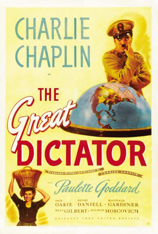 Charlie Chaplin's final speech in the film The Great Dictator